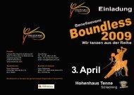 Boundless 2009