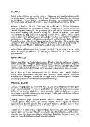 Malatya Tanıtım Broşürü için tıklayınız... - malatya il kültür ve turizm ...
