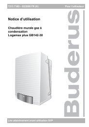 Télécharger - Buderus