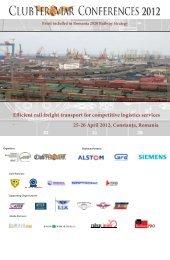 Efficient rail freight transport for competitive logistics services