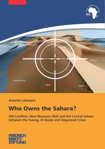 Who owns the Sahara? - Bibliothek der Friedrich-Ebert-Stiftung
