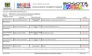 listado de inscritos y documentos a subsanar - Secretaría de Cultura ...