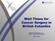 Wait Times for Cancer Surgery in British Columbia - BC Cancer ...