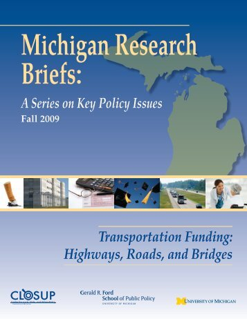 Transportation Funding - Center for Local, State, and Urban Policy