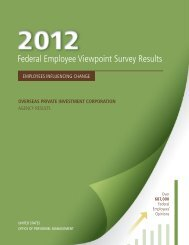 2012 Annual Employee Survey Results - Overseas Private ...
