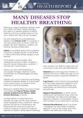 Pfizer Australia Health Report - Healthy Breathing - Lung Foundation - Page 4