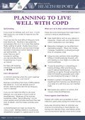 Pfizer Australia Health Report - Healthy Breathing - Lung Foundation - Page 6