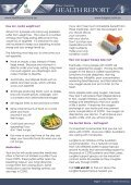 Pfizer Australia Health Report - Healthy Breathing - Lung Foundation - Page 7