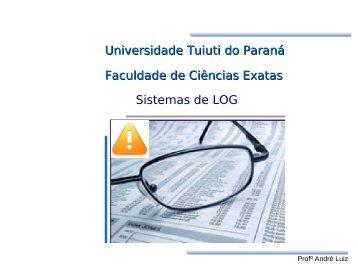LOGs - Gerds - Universidade Tuiuti do Paraná