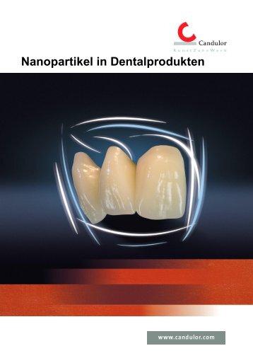 Nanopartikel in Dentalprodukten - Candulor
