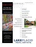 lake placid - USAMLS.net - Page 4