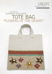 Summer Holidays Tote Bag - Flowers of the Desert - Create Your Style