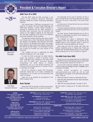 President & Executive Director's Report - Australian Automotive ...