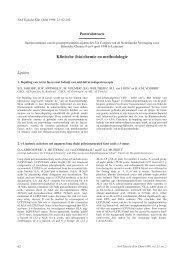 Klinische (bio)chemie en methodologie - NVKC