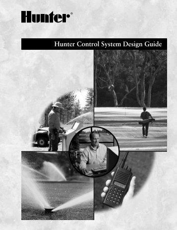 Hunter Control System Design Guide - Hunter Industries
