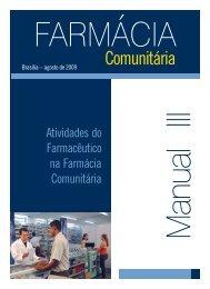 Atividades do farmacêutico na farmácia comunitária - Conselho ...