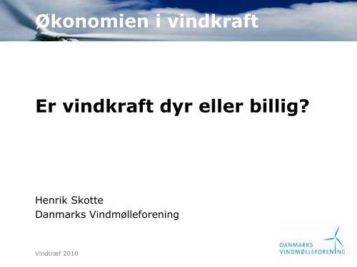Se præsentation - Danmarks Vindmølleforening