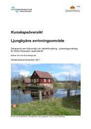 Ljunbyåns avrinningsområde - Vattenmyndigheterna