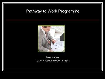 Pathway to Work Programme - iSpectrum