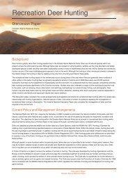 Recreation Deer Hunting - Parks Victoria
