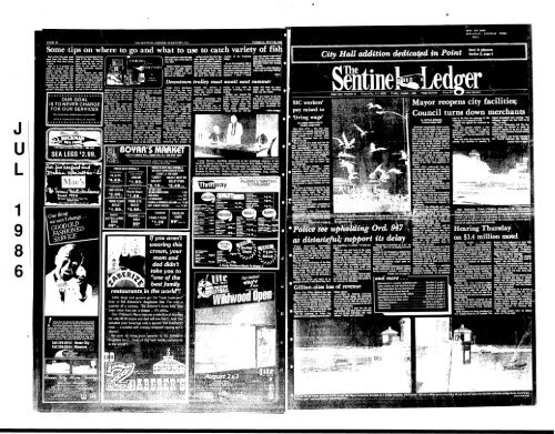 Aug 1986 On Line Newspaper Archives Of Ocean City