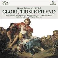 CLORI, TIRSI E FILENO - nca - new classical adventure