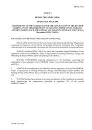 MEPC 54/21 ANNEX 3 RESOLUTION MEPC.142(54) Adopted ... - IMO
