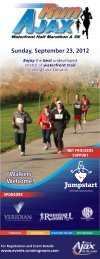 Sunday, September 23, 2012 Walkers Welcome! - Town of Ajax