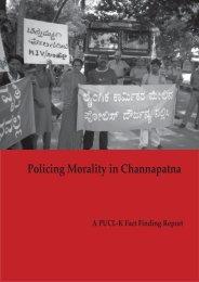 Full report (pdf) - People's Union for Civil Liberties