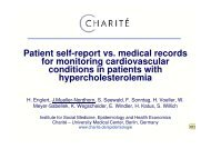 Patient self-report vs. medical records for monitoring ... - EPI 2008