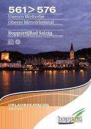 Boppard/Bad Salzig URLAUBSKATALOG - Tourist Information ...