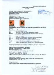 Ridomil Gold MZ 68 WG - VAAD