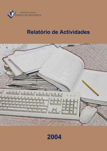 Relatório de Actividades de 2004 - Instituto de Informática