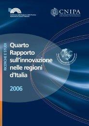 Quarto Rapporto sull'innovazione nelle regioni d'Italia 2006