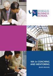 ir1276c Coaching/Mentoring fin - University of Wolverhampton
