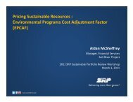 Environmental Programs Cost Adjustment Factor - Salt River Project