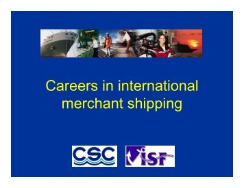 Career in Shipping - The Cyprus Shipping Council