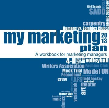 My Marketing Plan - Walsworth Yearbooks