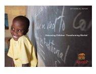 AAF_Annual-Rept-2011 - Asante Africa Foundation