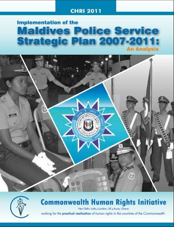 Implementation of the Maldives Police Service Strategic Plan