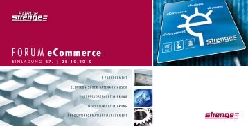 Mailing E-Procurement - Strenge-Forum