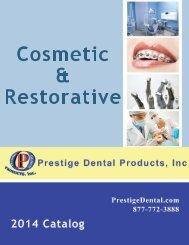Cosmetic & Restorative - Prestige Dental Products
