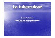 Qu'est-ce que la tuberculose? - Ligue pulmonaire