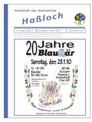17.00 Uhr - Gemeinde Haßloch