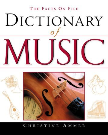 Dictionary of Music - Birding America