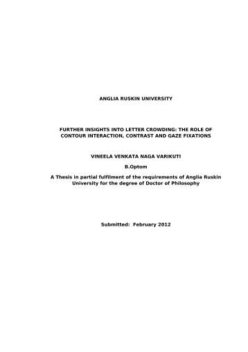 Uk thesis on line