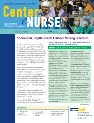 Specialized Hospital Teams Enhance Nursing Processes
