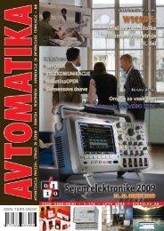 issn 1580-0830 avtomatizacija procesov, strojev in ... - Avtomatika