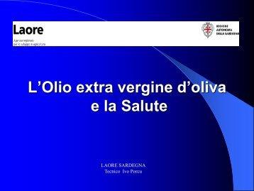 L'olio extra vergine d'oliva e la salute - GAL Sarcidano Barbagia di ...