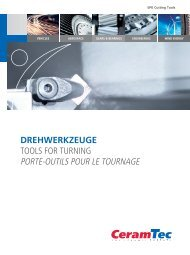 SPK-Drehwerkzeuge SPK Tools for turning Outils pour ... - CeramTec